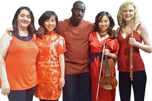 Meg Okura & the Pan Asian Chamber Jazz Ensemble