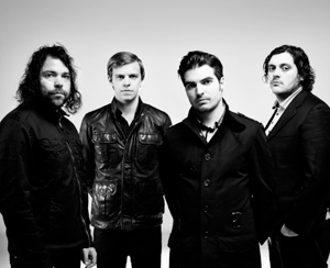 Sh-K-Boom Records brought in The Boxer Rebellion to track some songs for a new project.