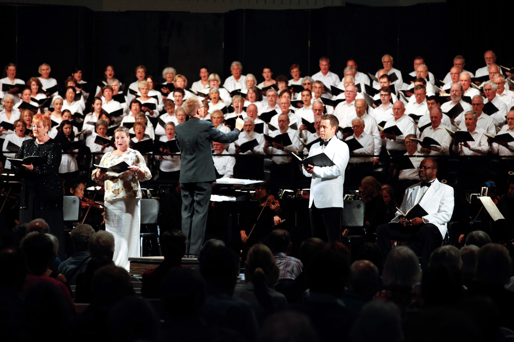 A shot from the 2014 Berkshire Choral Festival in Sheffeild, Massachusetts