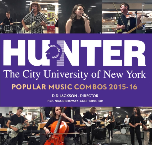 D.D. Jackson produced, directed and mixed the 2015-16 Hunter Pop Compilation CD.