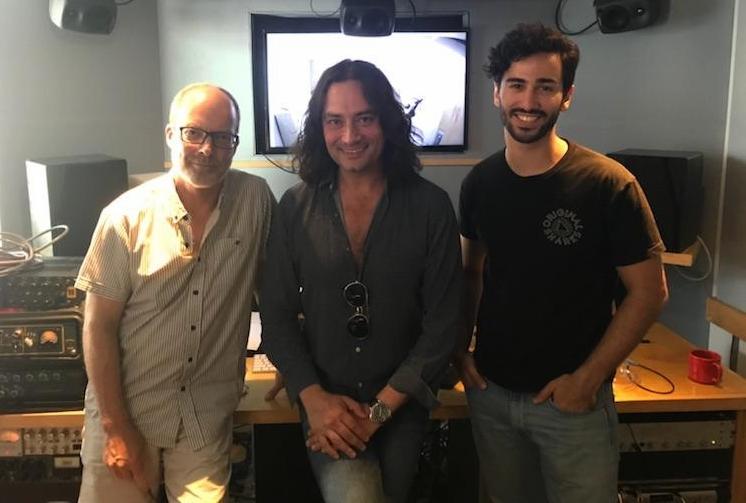 Peter Galperin, Constantine Maroulis, Sam Palumbo