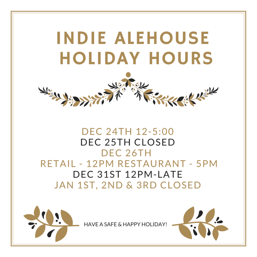 Indie Alehouse holiday hours.png