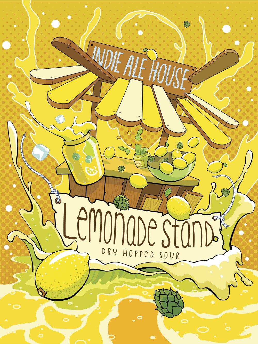 Lemon & Lactose Sour - Friday June 9th 12pm bottle release $6.50/500ml bottle + deposit