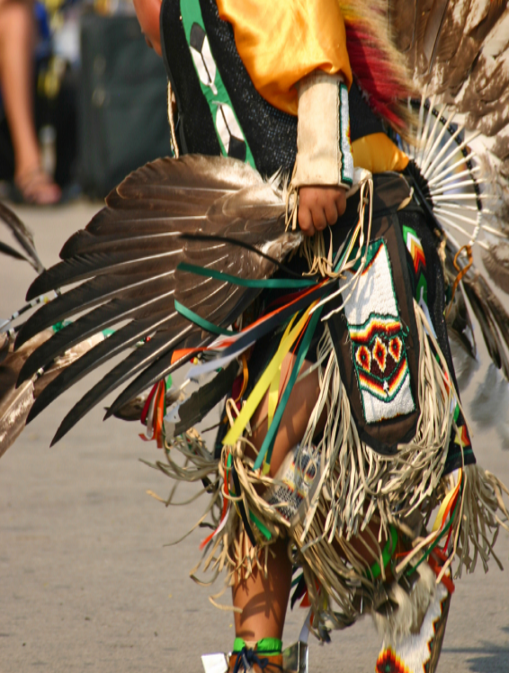 Assiniboine dancer