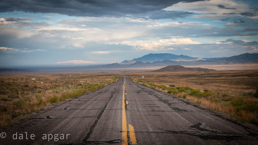 The roads of Wyoming are long, often straight and almost always desolate