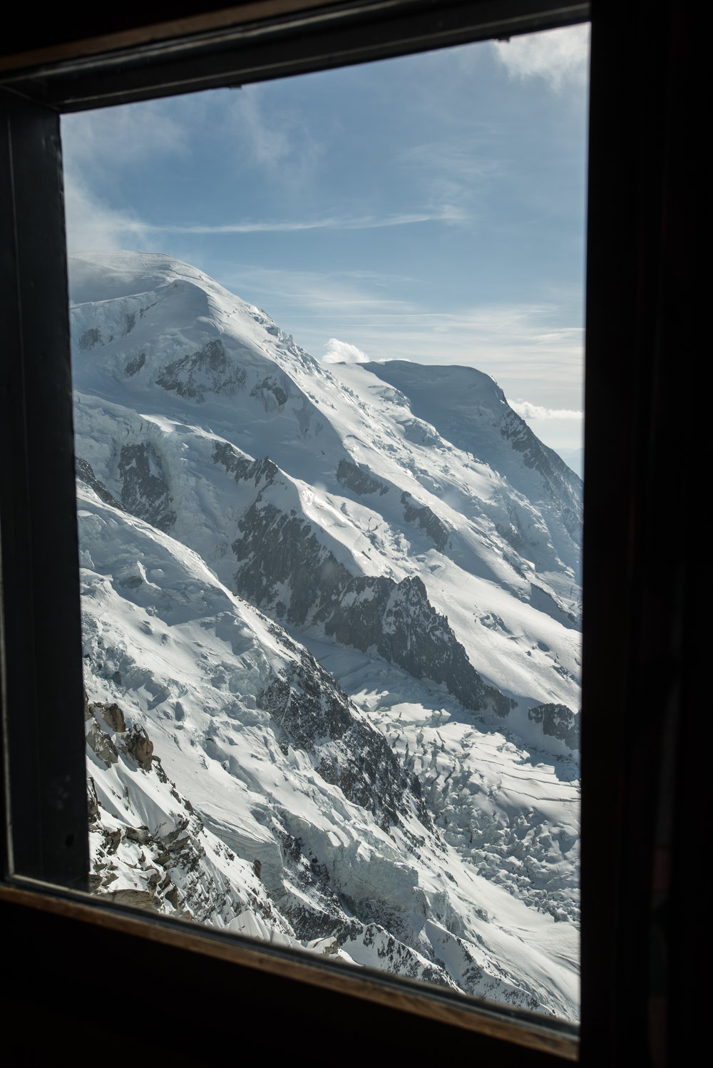The view from your hut room window