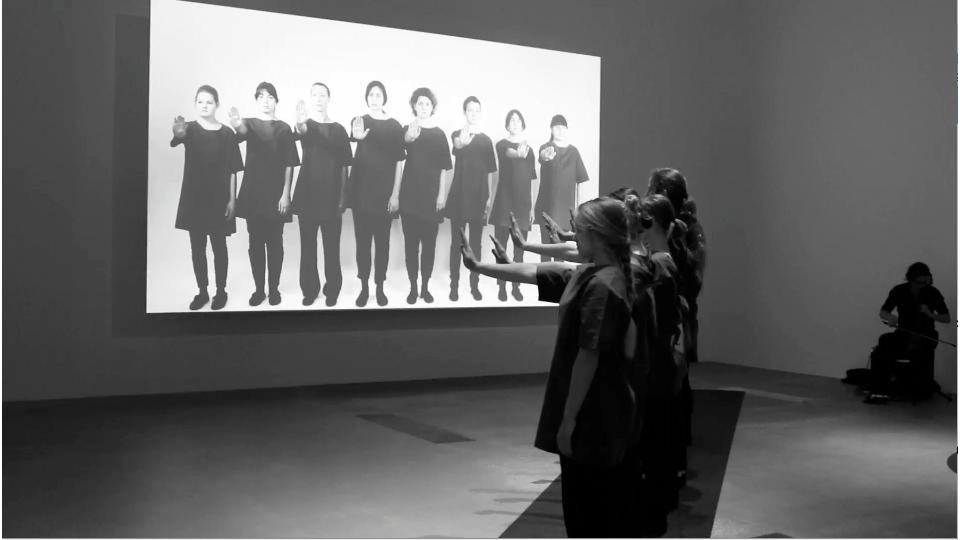 There is no there  performance at Gallery of Modern Art Brisbane  for  The 8 th  Asia Pacific Triennial of Contemporary Art, 2016.