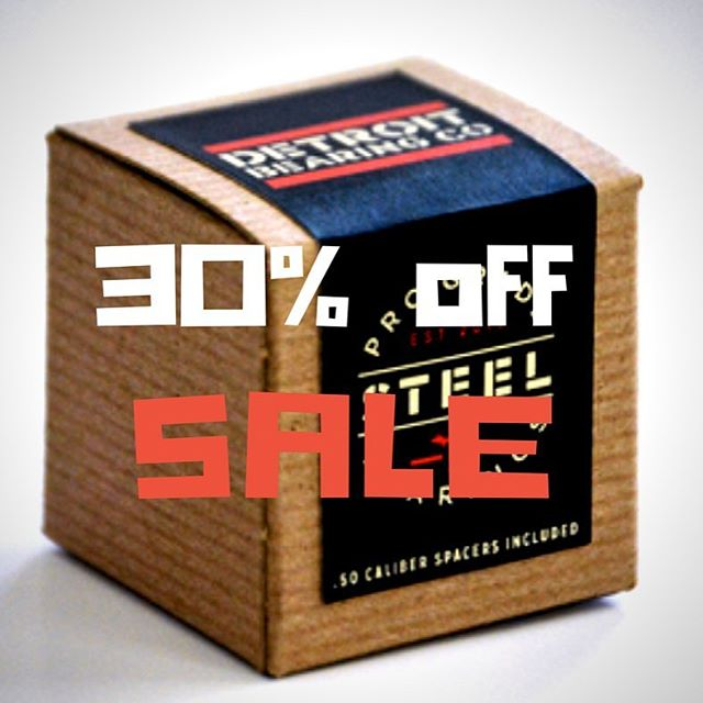 don't tell anybody, but detroit bearing co. is having a labor day sale. 30% off our mean steel bearings.  #skateboarding #skateordie #rollerblade #inlineskate #inline #rollerderby  use code DBCSTEEL at our web store at link in bio.  and definitely, absolutely, do NOT share this post with yer friends.