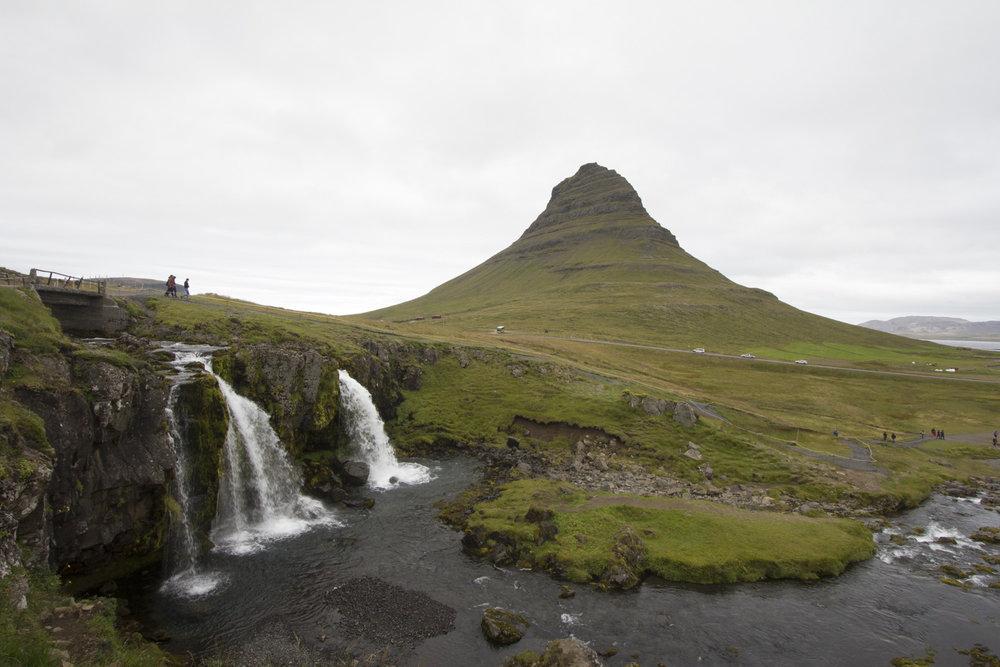 A tourist favourite photo spot - Kirkjufell
