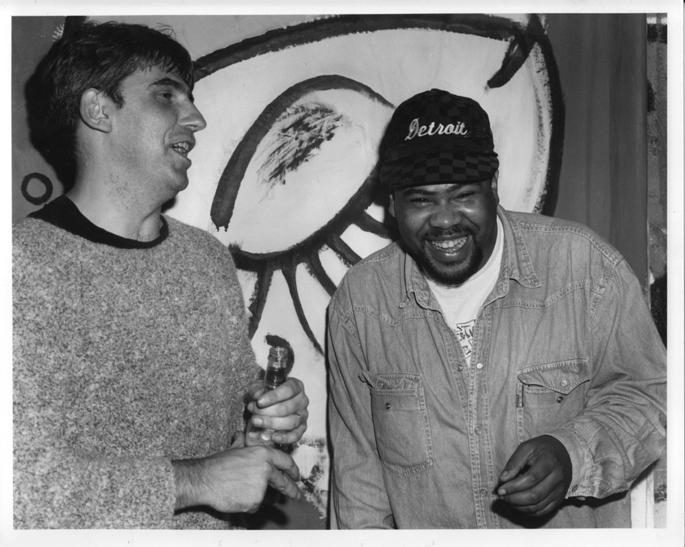 Greg Dowling, Derrick Carter, 1995 (photo by Martin Healy)
