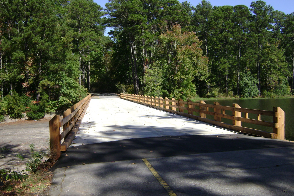 Bicycle/Pedestrian Bridge located in Wetumpka, AL