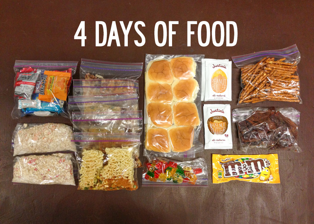 Sample Meal Plan Snowqueen Scout