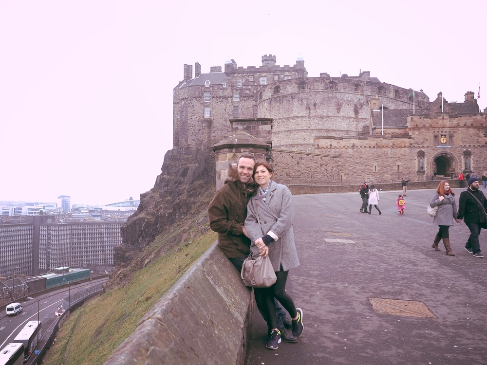 Said hi to the glorious Edinburgh Castle!   Gorkemli Edinburgh Kalesi'ne merhaba dedik!