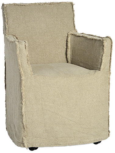 Burlap-slipcovered-armchair