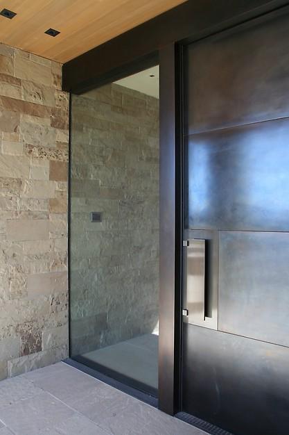 Steel Modern Door