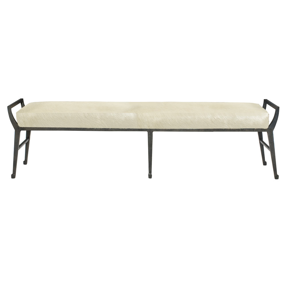 HAIR ON HIDE BENCH  $2499