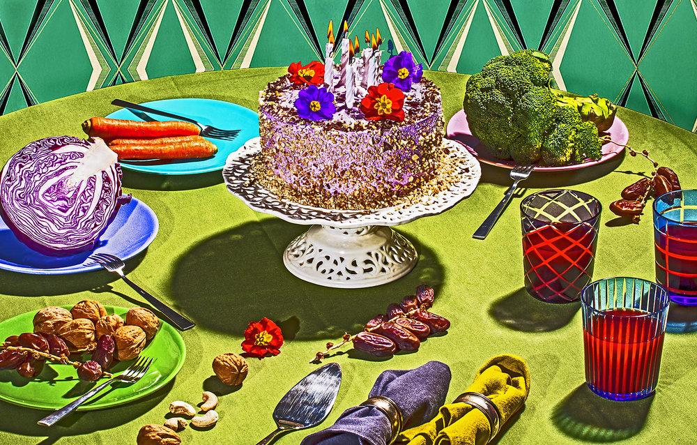 Salade cake