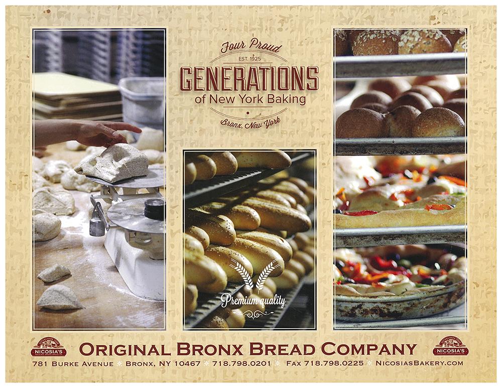 Nicosia's Bakery Brochure