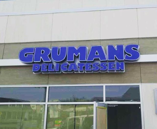 Excited to be a part of @grumansdeli new location at Elbow and 50th Ave SW!