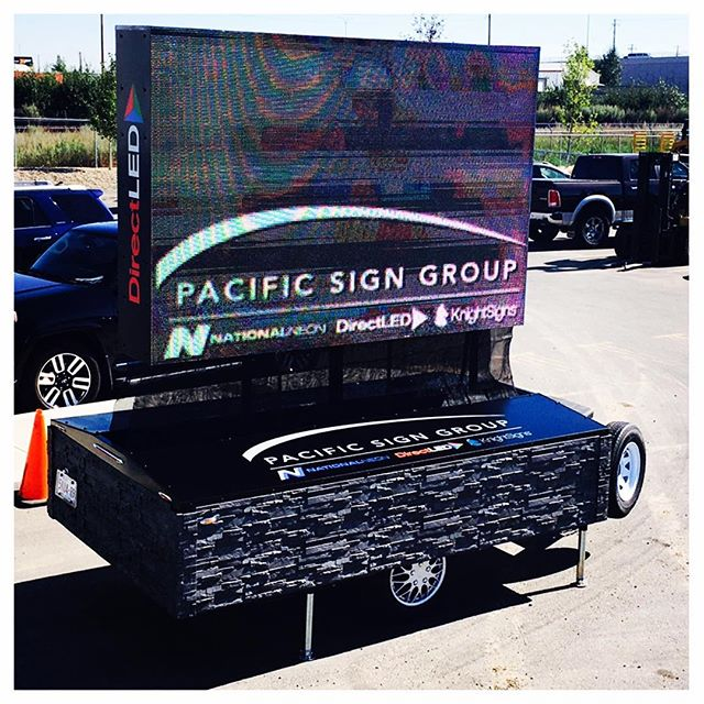 Rent this beauty and experience one of the most powerful advertising tools around. This digital LED trailer is self powered and is great for driving sales and getting exposure!