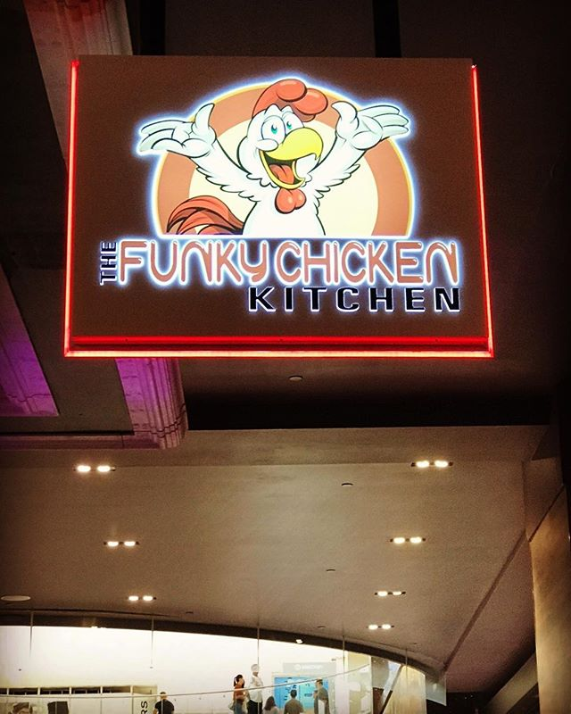 Happy to be part of this new concept on Bourbon Street WEM. Great new sign and great chicken as well. #funkychicken #wem #yeg #yegsigns #nationalneonsigns #neonsign #chicken