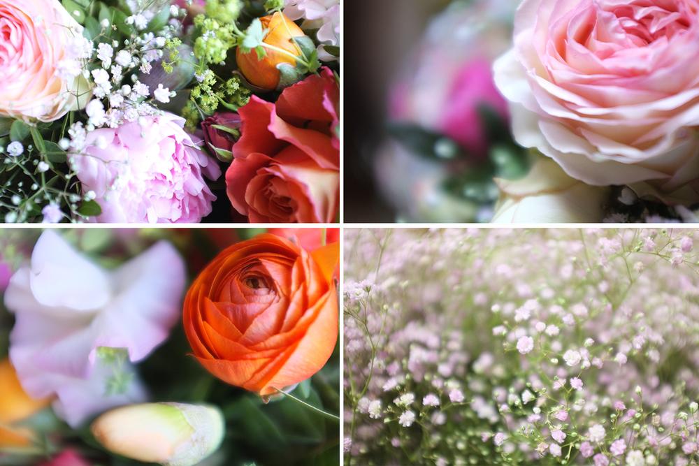 ranunculus, gypsophilia, rose, peony, Florist, Bloemist, Amsterdam, Prinsengracht