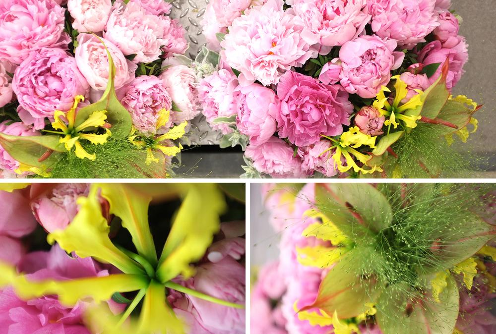 Gloriosa, Anthurium, Peonies, grasses, Bloemen, Florist, Bloemist, Amsterdam, Prinsengracht, Bloemenwinkel