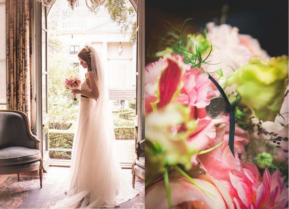 Wedding, Bride, Museum Van Loon, bruiloft Flower florist amsterdam bloemist bloemen Bloemen Bloem A.P Bloem Amsterdam Prinsengracht Bloemenwinkel Lifestyle Bridal Bouquet, Bruid Boeket, Ring