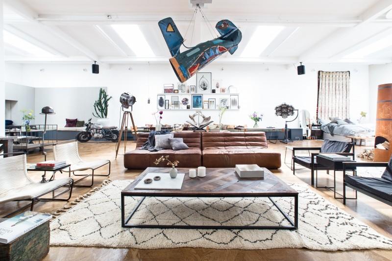 The Loft pop-up apartment