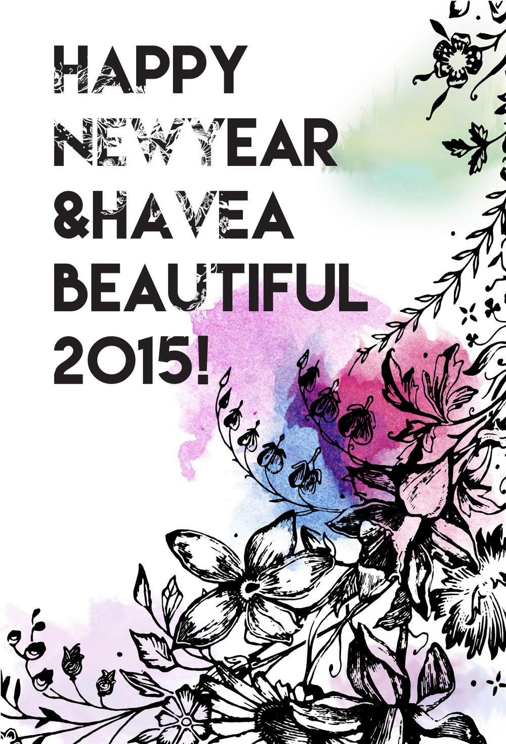 Happy Near Year from A.P Bloem Florist Amsterdam Bloemist