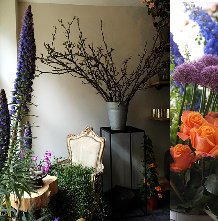A.P Bloem Florist Flowers Amsterdam Kerkstraat Bloemist Bloemenwinkel new location Spiegelquartier