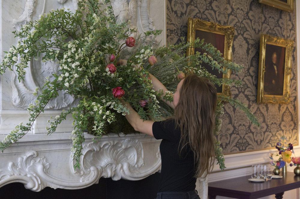 A.P Bloem florist bloemist evenement bloemen amsterdam luxury golden age