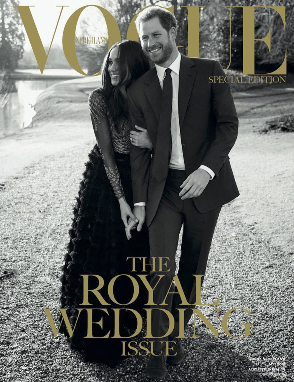 Vogue The Royal Wedding Issue - May Issue 2018 -