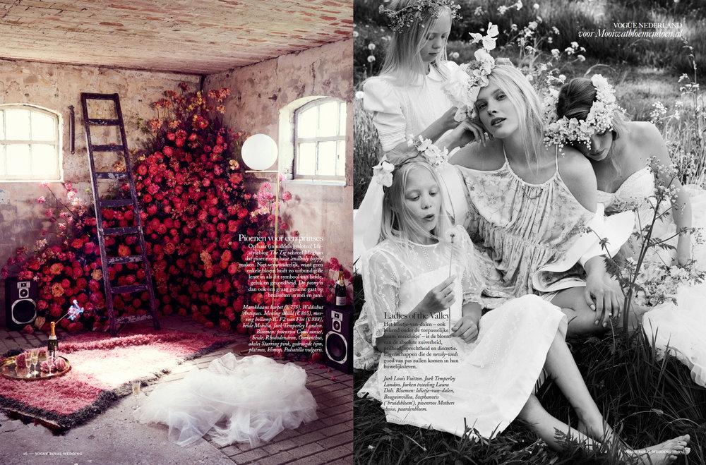 A.P Bloem Vogue florist bloemist kerkstraat amsterdam flowers bloemen flowers Royal Wedding photoshoot fotoshoot Spiegelkwartier  Models Mode Fashion Meghan Markle Prince Harry Royal Wedding Royalty Netherlands