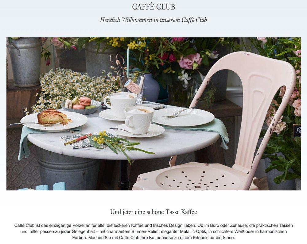 Villeroy & Boch Caffè Club Floral Touch - Photoshoot -
