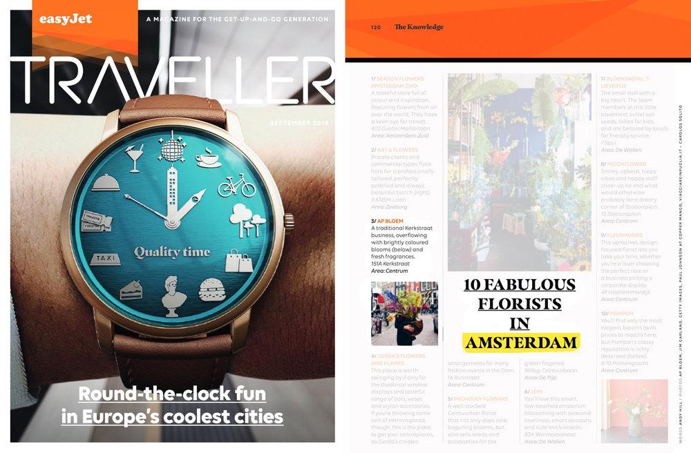 easyJet Traveller inflight magazine - September 2018 -