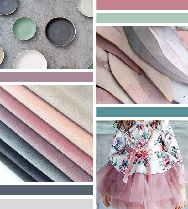 Color Inspiration Board | Creating The Perfect Pinterest Board For Your Brand | Tiffany Kuehl Designs