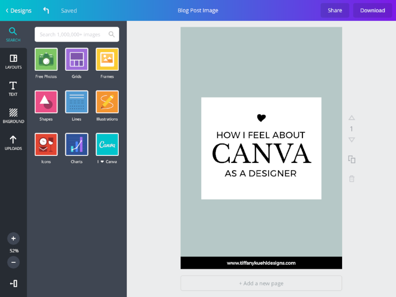 How I Feel About Canva As A Designer | Tiffany Kuehl Designs