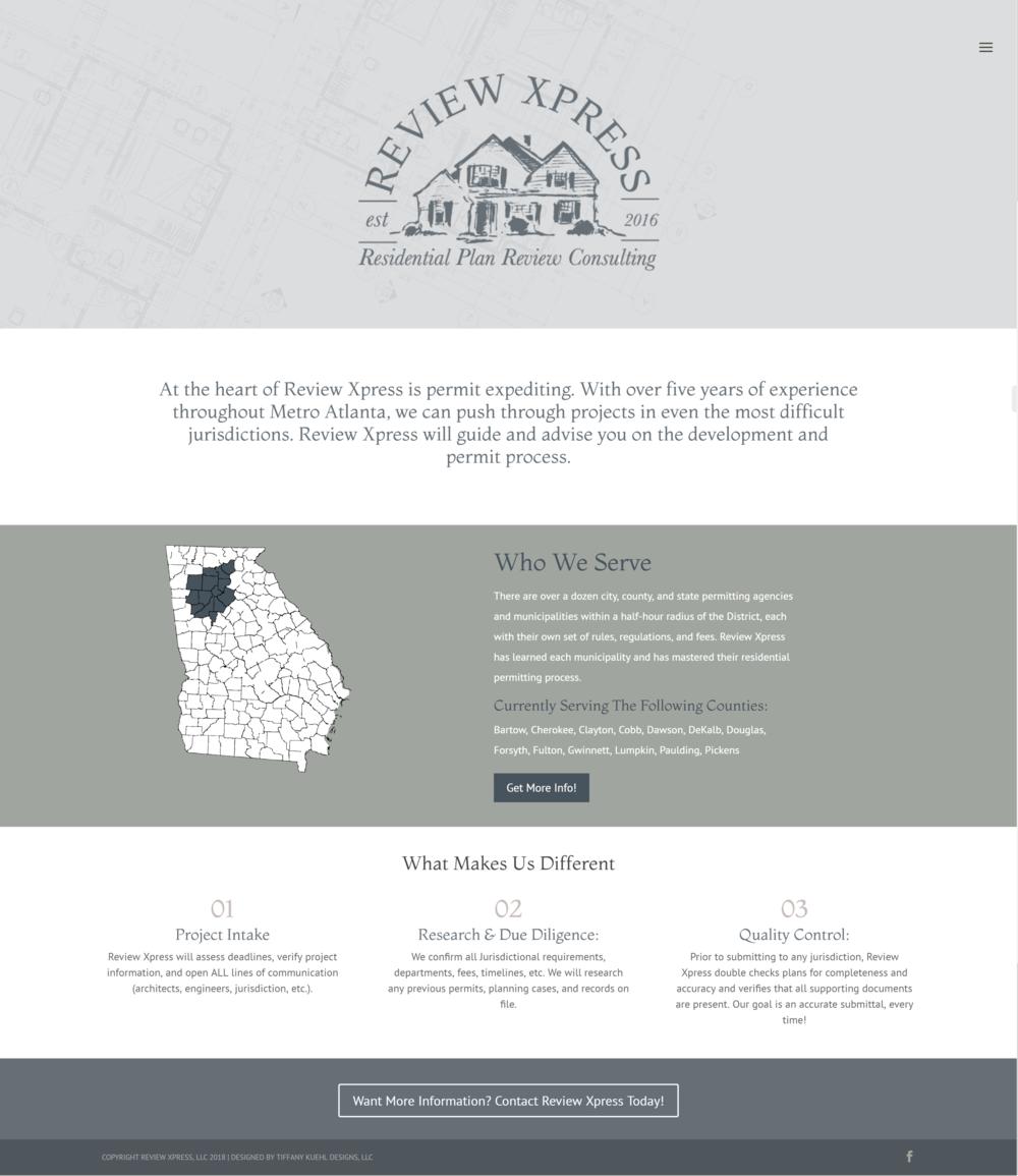 Review Xpress Website Design| Tiffany Kuehl Designs
