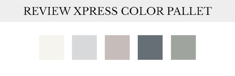 Review Xpress Color Pallet| Tiffany Kuehl Designs