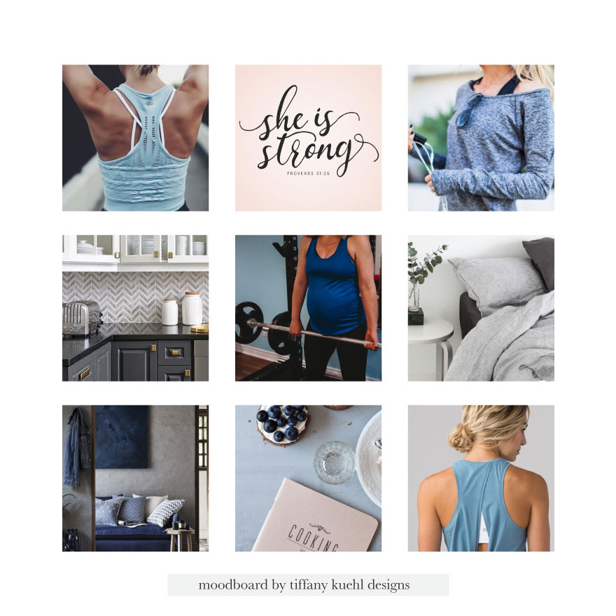 The BArbell Balance Website Design | Tiffany Kuehl Designs  Terrell Baldock a busy mom with 3 kids and married for almost 12 years. She grew up in a household where weight was always an issue and unhealthy habits were a part of her norm. That's a cycle she hopes to break for not only her family, bot many other families out there. Terrell works with women to empower them to love their bodies on the inside out. Her ideal client is a new or second-time mom who is looking for a healthier approach to fitness during/after pregnancy. She is someone who has an active history but is experiencing issues with her pelvic floor. She is looking to regain her previous abilities without these issues.  #branding #designinspiration #colorpalette #postpartumfitness #fitnesscoach #fitness #brandinspiration
