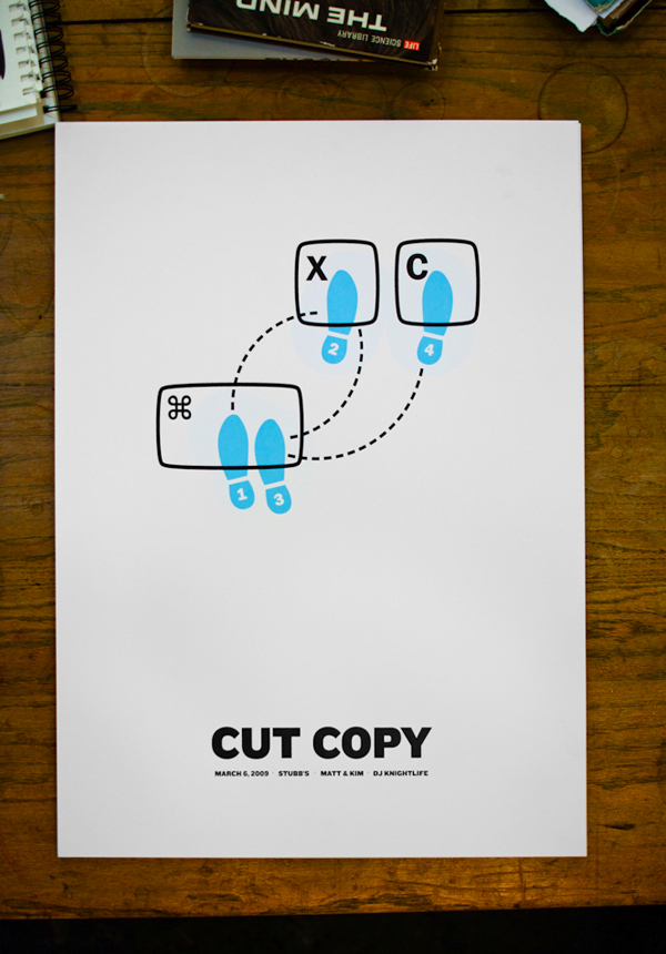 Cut Copy Print