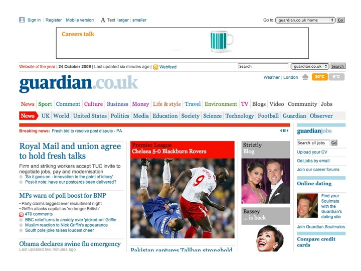 Guardian Home Page