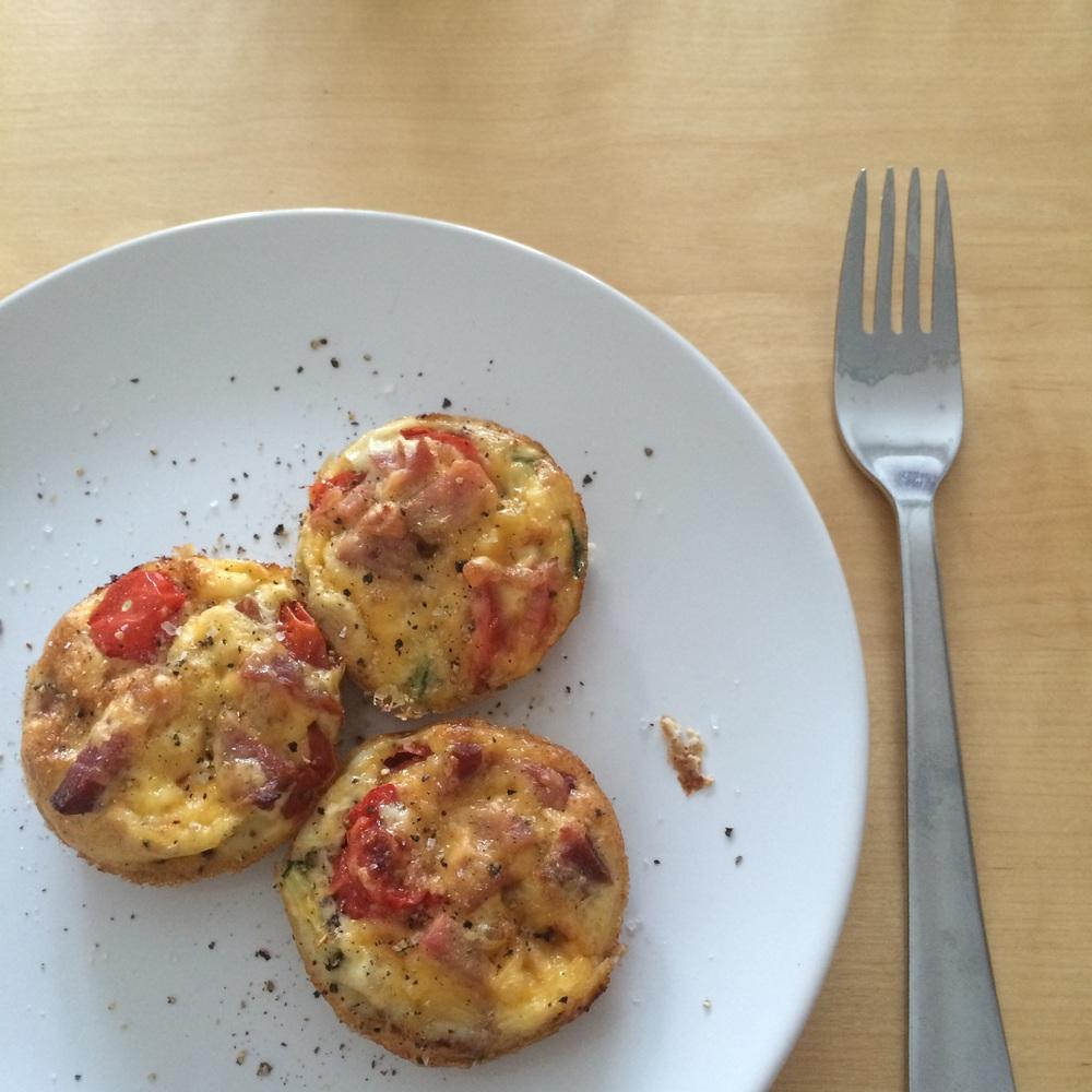 3 Crustless Mini Breakfast Quiches