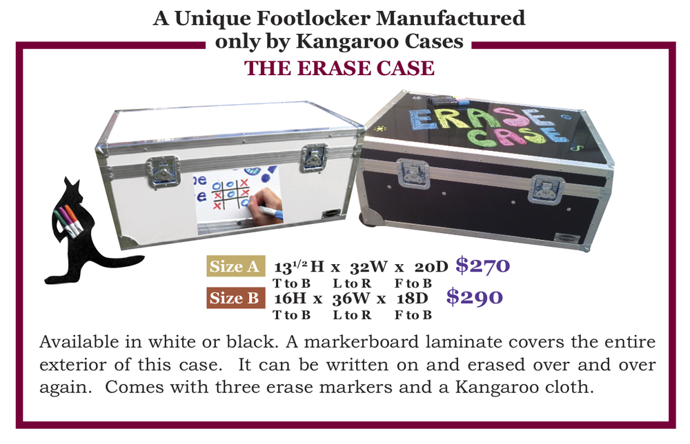 Click here to order (select The Erase Case)