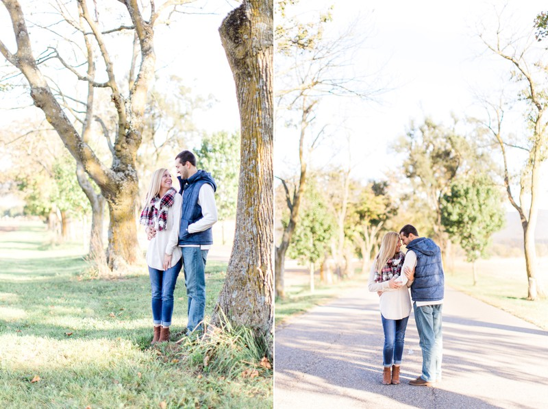Caroline and Dan | Romantic and Fun Fall Virginia Engagement Session | Carla Jane Photography | Nashville Wedding Photographer