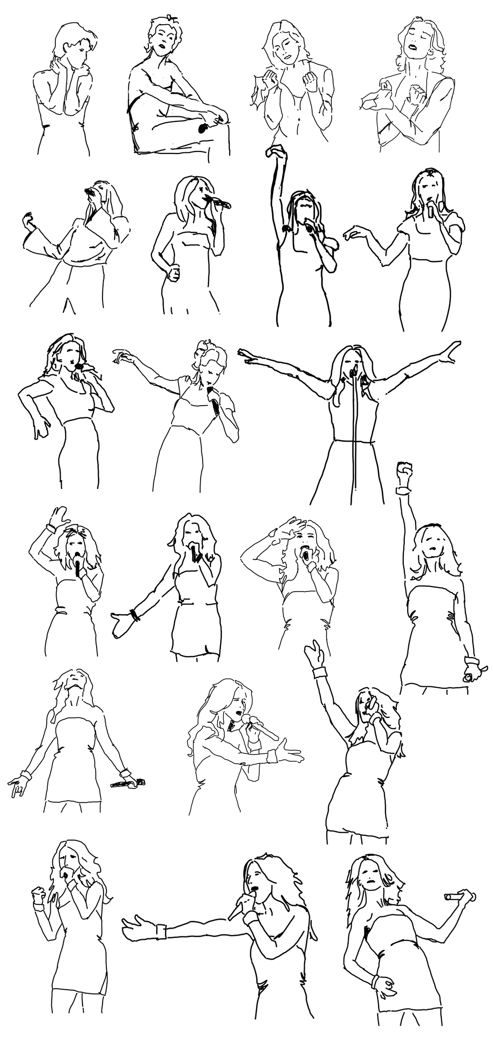 Celine-Dion-pose-sketches-collection.jpg