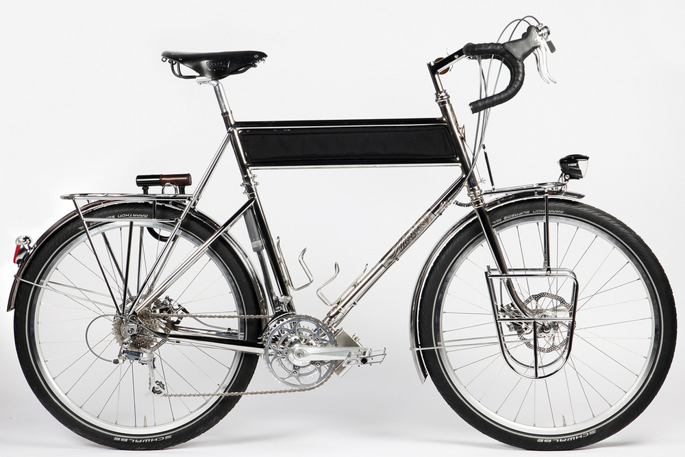 Stainless Steel Touring Bike
