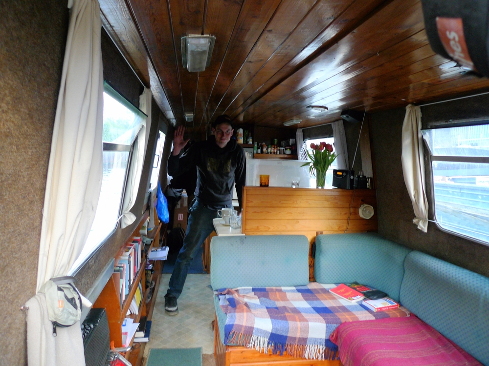 Ryan in the Galley