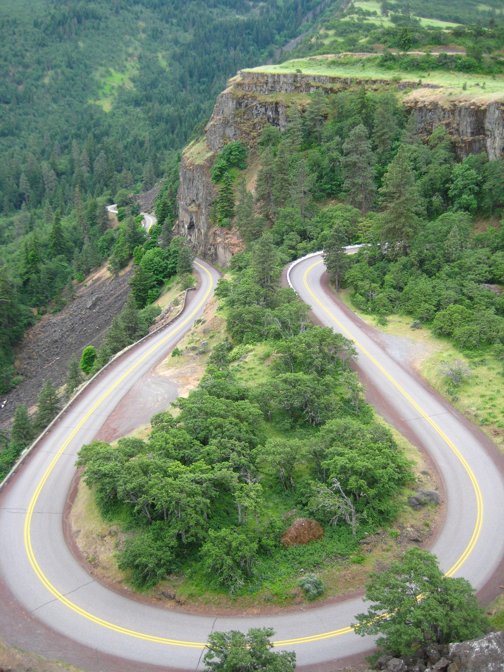 Climb out of the Columbia River Valley